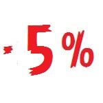 СКИДКА 5% ПОСЛЕ ЗАКАЗА