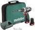 Аккумуляторный шуруповерт Metabo PowerMaxx BS в сумке 0