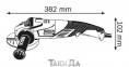 Угловая шлифмашина BOSCH GWS 15-125 CIEH 0
