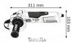 Угловая шлифмашина BOSCH GWS 19-150 CI 0