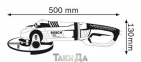 Угловая шлифмашина BOSCH GWS 22-180 LVI 0