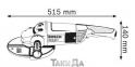 Угловая шлифмашина BOSCH GWS 22-230 JH 0
