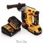 Перфоратор акумуляторний безщітковий DeWALT DCH273P2 3