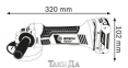 Аккумуляторная углошлифмашина BOSCH GWS 18-125 V-LI L-BOXX 0