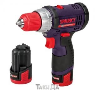 Аккумуляторный ударный шуруповерт Sparky BUR2 10,8Li-С HD