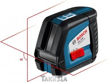 Линейный лазерный уровень BOSCH GLL 2-50