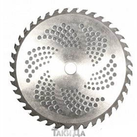 Нож к мотокосе 40 зуб.(нерж.сталь)