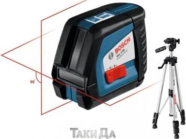 Линейный лазерный уровень BOSCH GLL 2-50 + BS 150
