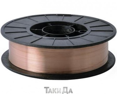 Сварочная проволока омедненная Дніпро-М ER70S-6 - 0,8 мм/1 кг