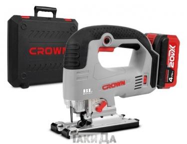 Лобзик аккумуляторный CROWN CT25003HX-4 BMC