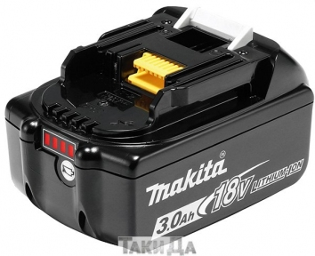 Аккумулятор Makita LXT BL1830B (18 В, 3 Ач)