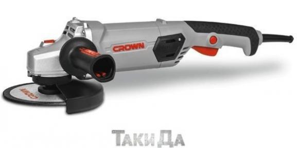 Угловая шлифмашина (болгарка) CROWN CT13507-150N