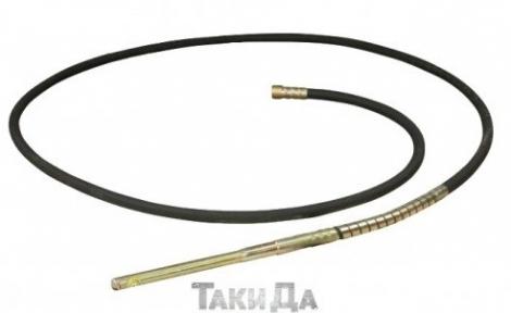 Вибробулава и гибкий вал Кентавр ВБР-1502Э (38ммх6м)