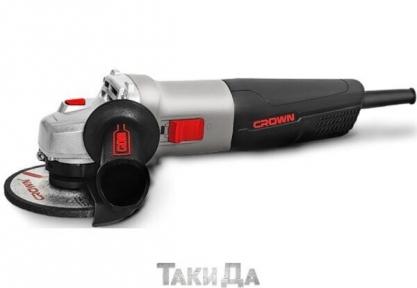 Угловая шлифмашина (болгарка) CROWN CT13499-125R
