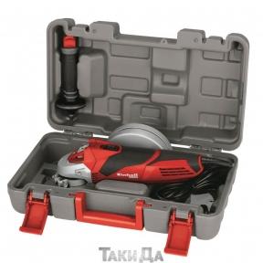 Угловая шлифмашина (болгарка) Einhell TE-AG 125/750 kit