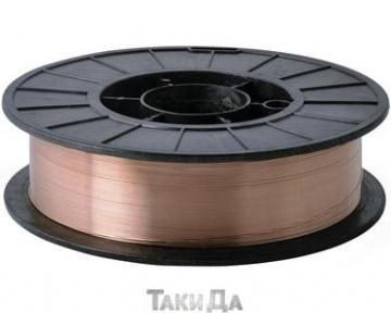 Сварочная проволока омедненная Дніпро-М ER70S-6 - 0,8 мм/2,5 кг