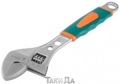 Ключ разводной Sturm 1045-02-A300, 300 мм мягкая ручка