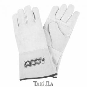 Перчатки сварщика краги Дніпро-М белые