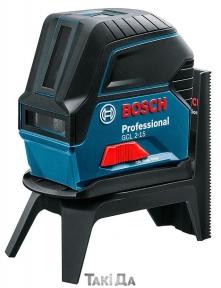 Уровень лазерный BOSCH GLL 2-15 + RM 1