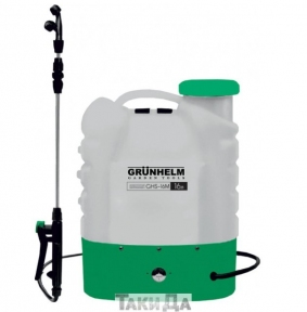 Аккумуляторный опрыскиватель GRUNHELM GHS-16M