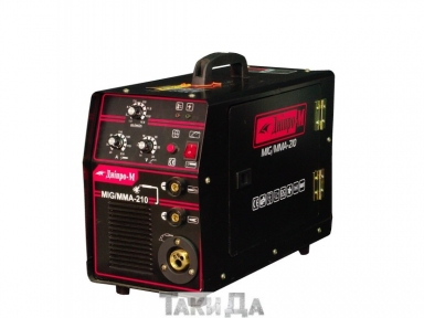 Полуавтомат инверторный Дніпро-М MIG/MMA, 210 (2in1, IGBT)