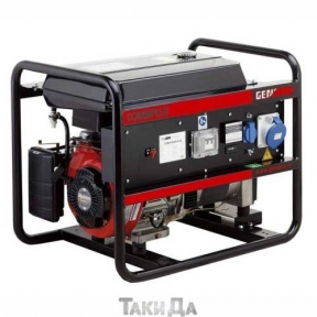 Бензиновый генератор трехфазный с электростартером GENMAC 12000RE