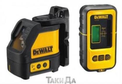 Лазер,самовырав.(горизонт+вертикаль) DeWALT DW088KD
