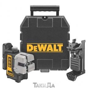 Угломер лазерный DeWALT DW089K 3-х плоскостной (гориз+верт+бок)