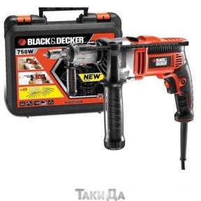 Дрель ударная 750 Black&Decker KR705K